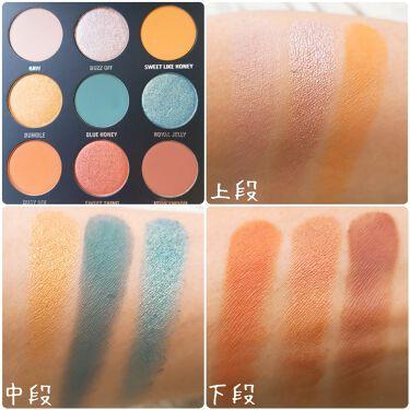 Blue Honey Palette/Kyshadow/Kylie Cosmetics/パウダーアイシャドウを使ったクチコミ(4枚目)