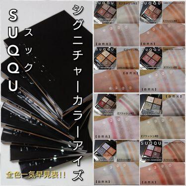 シグニチャー カラー アイズ/SUQQU/パウダーアイシャドウを使ったクチコミ(6枚目)