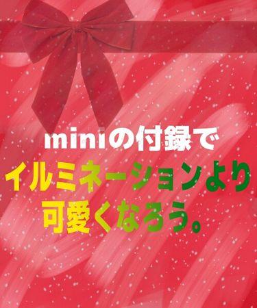 さぐぁ🍎さんの「mini (ミニ)mini付録<その他>」を含むクチコミ