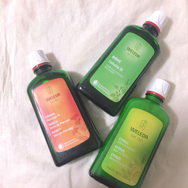 シトラス バスミルク/WELEDA/入浴剤を使ったクチコミ(1枚目)