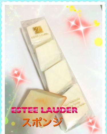 碧さんの「ESTEE LAUDERスーパー プロフェッショナル メークアップ スポンジ<パフ・スポンジ>」を含むクチコミ