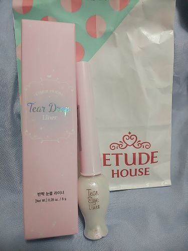 ティアー アイライナー/ETUDE HOUSE/リキッドアイライナーを使ったクチコミ(1枚目)