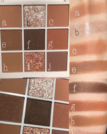 TERRAZZO Shadow palette/ホリカホリカ/パウダーアイシャドウを使ったクチコミ(8枚目)
