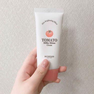 トマトミルキーシャインクリーム/SKINFOOD/化粧下地を使ったクチコミ(1枚目)
