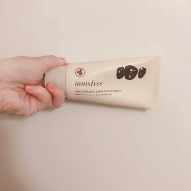 ヴォルカニックポア スクラブフォーム/innisfree/洗顔フォームを使ったクチコミ(1枚目)