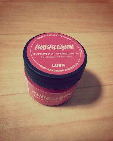 バブルガムフレーバー リップスクラブ/ラッシュ/リップケア・リップクリームを使ったクチコミ(1枚目)