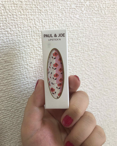 リップスティック N(8/1 Matte Type 新発売)/PAUL & JOE BEAUTE/口紅を使ったクチコミ(1枚目)