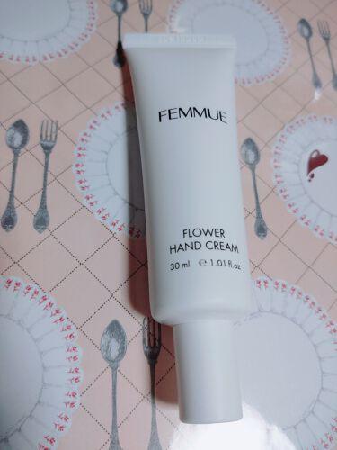 フラワー ハンドクリーム/FEMMUE/ハンドクリーム・ケアを使ったクチコミ(1枚目)