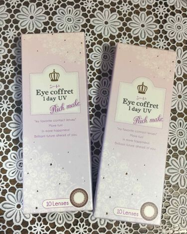 シード Eye coffret 1day UV/シード/カラーコンタクトレンズを使ったクチコミ(1枚目)
