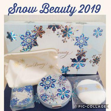 スノービューティー ホワイトニング  フェースパウダー 2019/スノービューティー/プレストパウダーを使ったクチコミ(1枚目)