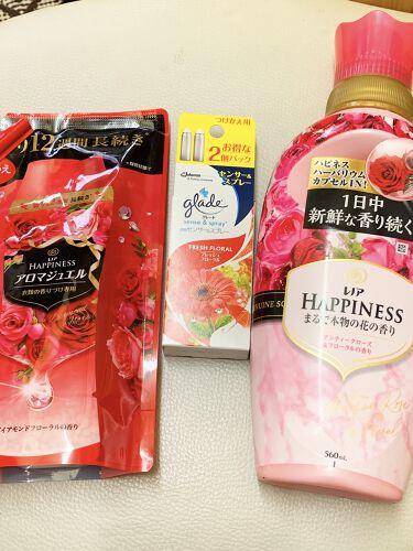 レノアハピネス アンティークローズ&フローラルの香り/レノア/香り付き柔軟剤・洗濯洗剤を使ったクチコミ(4枚目)