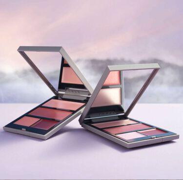 <表情から上昇する、秋色のセンチメント。>  2020 .10 .7発売 THREE GLOW FREEDOM PALETTE RISING  詳しくはこちらから。 https://www.threecosmetics.com/brand/news/three-glow-freedom-palette-rising/
