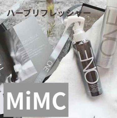 MiMC ONE ハーブシャワーリフレッシャー/MiMC/香水(その他)を使ったクチコミ(1枚目)