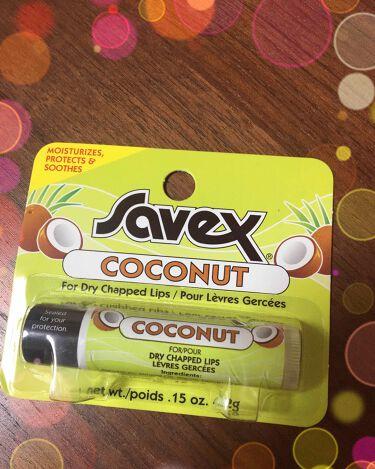 ココナッツ リップクリーム スティック/サベックス(海外)/リップケア・リップクリームを使ったクチコミ(1枚目)