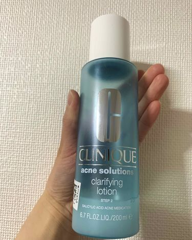 アクネ クラリファイング ローション/CLINIQUE/化粧水を使ったクチコミ(1枚目)