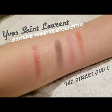 アイパレット ストリート&アイ/YVES SAINT LAURENT BEAUTE/パウダーアイシャドウを使ったクチコミ(3枚目)