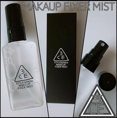 makeup fixer mist/3CE/ミスト状化粧水を使ったクチコミ(1枚目)