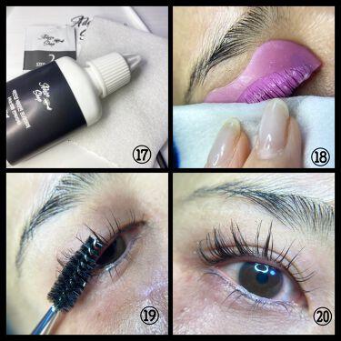 self eyelash perm kit/Qoo10/その他キットセットを使ったクチコミ(6枚目)