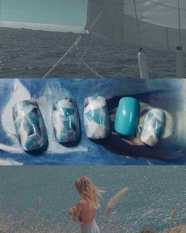 小夜子&エリン on LIPS 「【OceanPuzzle/海洋迷宮】海に触発されたこの創造とて..」(1枚目)