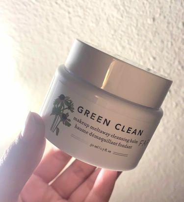 GREEN CLEAN クレンジングバーム/FARMACY/クレンジングバームを使ったクチコミ(1枚目)