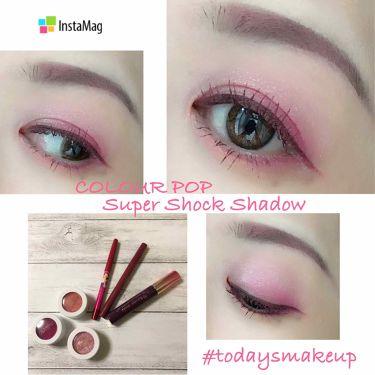 SAORI💜さんの「ColourPop(カラーポップ)super shock shadow<パウダーアイシャドウ>」を含むクチコミ