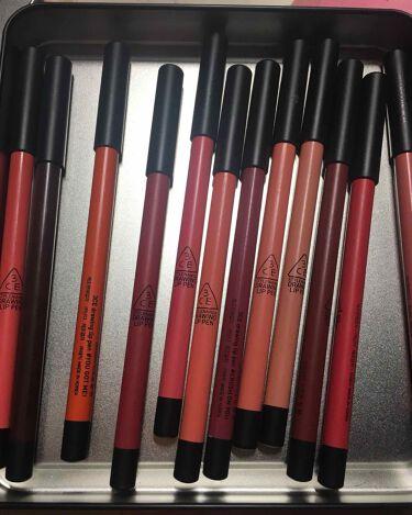 3CE  drawing lip pen kit/3CE/リップライナーを使ったクチコミ(1枚目)