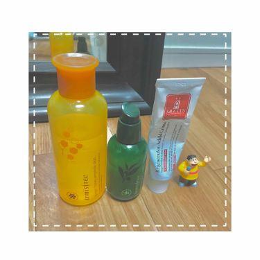リトさんの「イニスフリーThe green tea seed serum<美容液>」を含むクチコミ