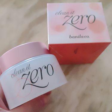 clean it Zero/banilaco(バニラコ)/クレンジングクリームを使ったクチコミ(1枚目)