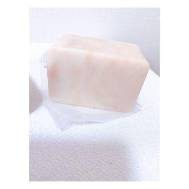 薔薇はちみつ石鹸/麗凍化粧品/洗顔石鹸を使ったクチコミ(4枚目)