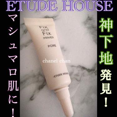 フィックス&フィックス プライマー/ETUDE/化粧下地を使ったクチコミ(1枚目)