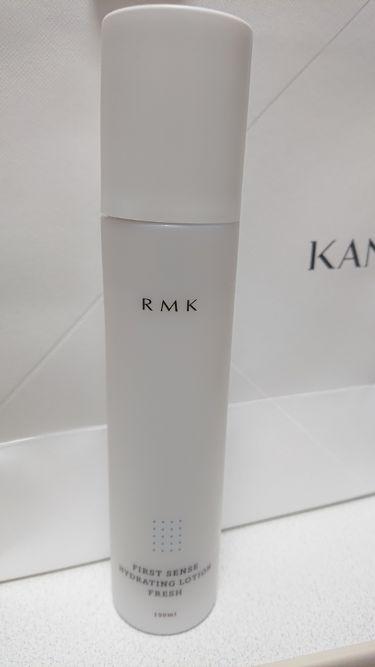 ファーストセンス ハイドレーティングローション フレッシュ/RMK/化粧水を使ったクチコミ(1枚目)