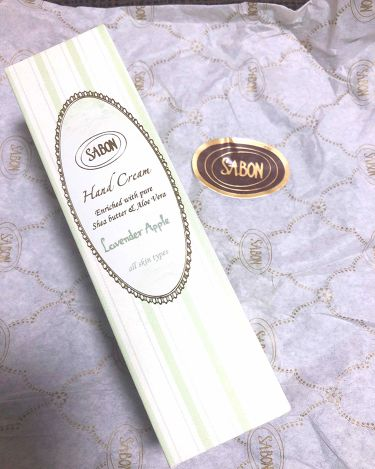 ハンドクリーム/SABON/ハンドクリーム・ケアを使ったクチコミ(2枚目)