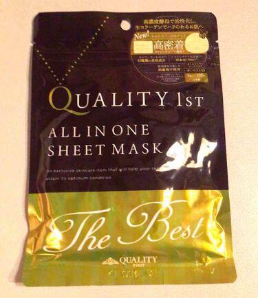 オールインワンシートマスク ザ・ベストEX/クオリティファースト/シートマスク・パックを使ったクチコミ(1枚目)