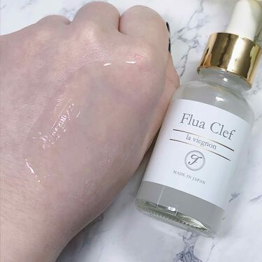 Flua  Clef フルアクレフ エッセンス/フルアクレフ/美容液を使ったクチコミ(4枚目)