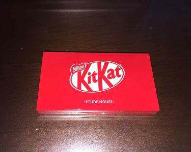 KitKatコラボアイシャドウ/ETUDE HOUSE/パウダーアイシャドウを使ったクチコミ(2枚目)