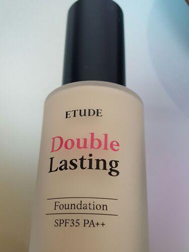 ダブルラスティング ファンデーション/ETUDE/リキッドファンデーションを使ったクチコミ(1枚目)
