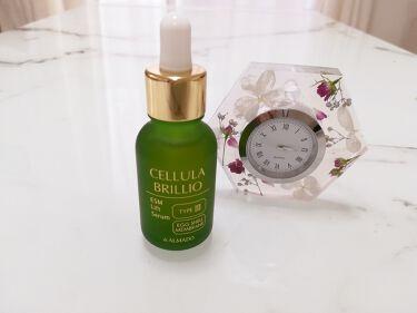 ブリリオ (旧)/CELLULA(チェルラー)/美容液を使ったクチコミ(1枚目)