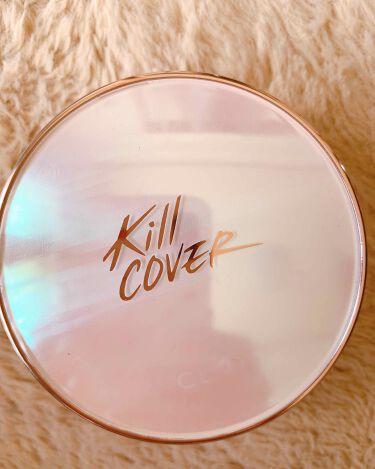 キル カバー ピンク グロウ クリーム クッション/CLIO/クッションファンデーションを使ったクチコミ(1枚目)
