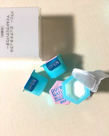 yuiyuiさんの「トワニートワニーピュアナチュラルマイルドクリアパウダー<洗顔パウダー>」を含むクチコミ