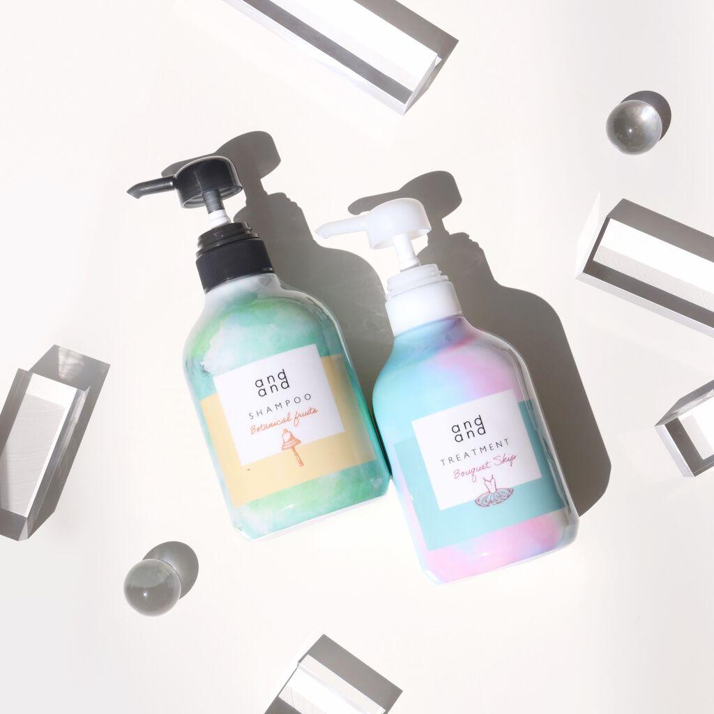 ★新発売商品★and andの新しい香りのシャンプー&トリートメントをお試し!!(1枚目)