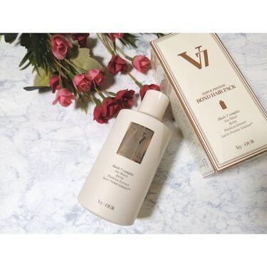 V7 スーパープロテイン ボンドヘアパック/by : OUR/洗い流すヘアトリートメントを使ったクチコミ(1枚目)