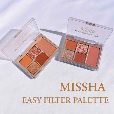 MISSHA イージー フィルター シャドウパレット/MISSHA/パウダーアイシャドウを使ったクチコミ(1枚目)
