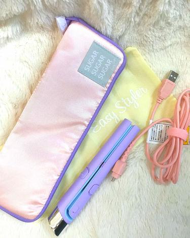 USB SUGAR IRON/コジット/ヘアケア美容家電を使ったクチコミ(1枚目)