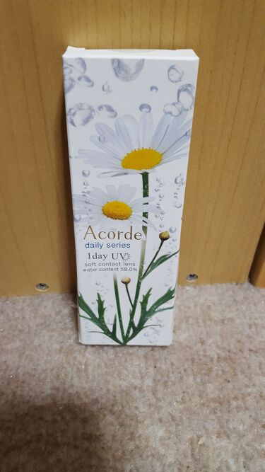 Acorde(アコルデ)/Acorde/カラーコンタクトレンズを使ったクチコミ(1枚目)