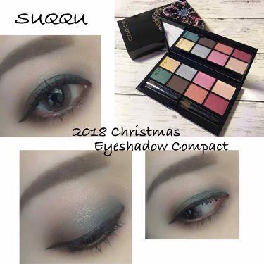 2018 クリスマス アイシャドウ コンパクト/SUQQU/パウダーアイシャドウを使ったクチコミ(1枚目)