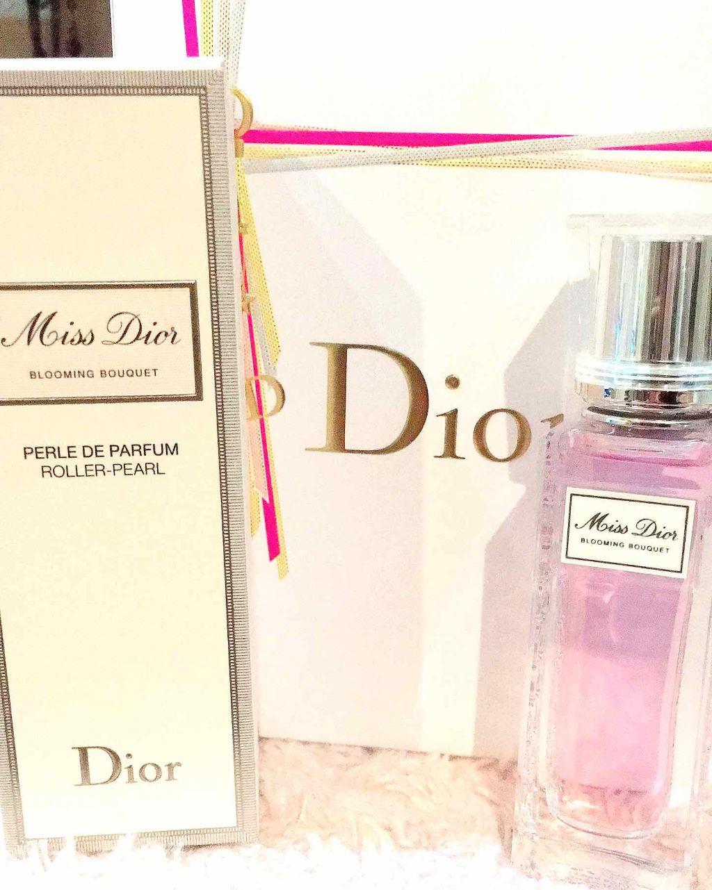 save off dd5a4 2cdc9 ミス ディオール ブルーミング ブーケ ローラー パール Diorの ...