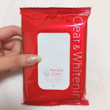 ネイチャーコンク 薬用 ふきとり化粧水シート/ネイチャーコンク/化粧水を使ったクチコミ(2枚目)