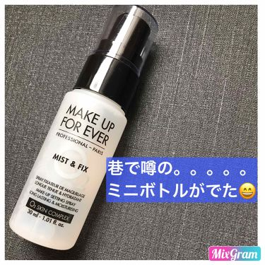 ミスト&フィックス/MAKE UP FOR EVER/ミスト状化粧水 by m♡c