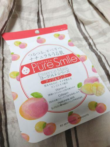 ヨーグルトシリーズ アップルマンゴー/Pure Smile/シートマスク・パックを使ったクチコミ(1枚目)