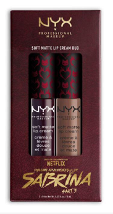 2020/2/23発売 NYX Professional Makeup チリング アドベンチャー オブ サブリナ リップデュオ